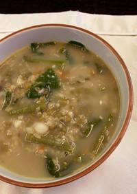 食べるスープ:フィリピン風緑豆のスープ