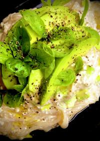 ダイエットに白滝で豆腐アボカドパスタ風