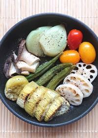 トースターで簡単野菜づくし豪華アヒージョ