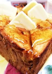 豪華♡バター&ハニートースト