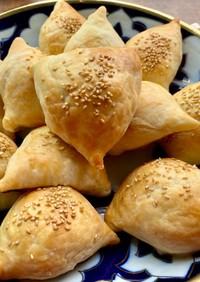 ウズベキスタン♡牛肉いっぱいサモサ