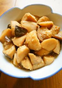 簡単☆冷凍里芋とエリンギの炒め煮