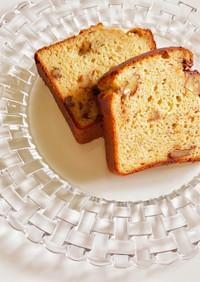 大豆粉と米粉のHMでパウンドケーキ