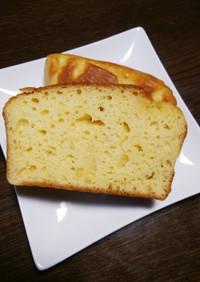 ヨーグルトでしっとり☆パウンドケーキ