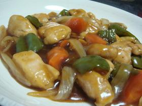 カンタン中華◎炒め揚げ酢鶏or酢豚