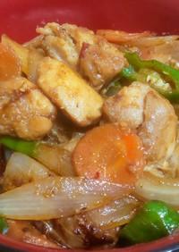 ニンニク生姜たっぷりスタミナ味噌鶏ちゃん