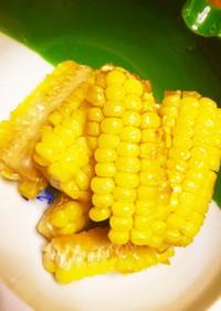 トウモロコシのバターメープルシロップ炒め