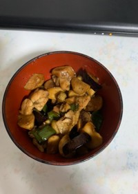 鶏肉とエリンギの簡単あっさり炒め