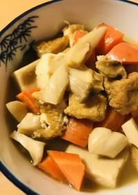 お惣菜●野菜&厚揚げのごろっとあっさり煮