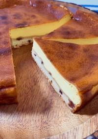 甘さ控えめ大人の「ベイクドチーズケーキ」