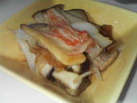 お弁当☆エリンギとかにかまのバター醤油☆