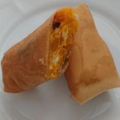 カボチャとクリームチーズの春巻き