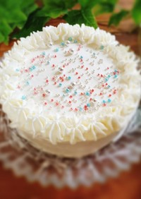 材料3つで簡単アイスケーキ♪
