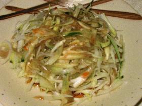 香野菜のサラダ