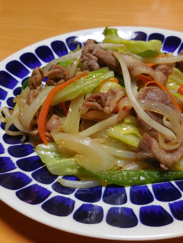 野菜炒め☆焼肉のタレ味