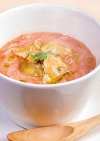 おいしいトマト無塩 豆乳トマトスープ