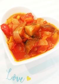トマト缶*  簡単ラタトゥイユ
