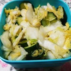 超々~簡単☆白菜と胡瓜のお漬物