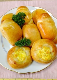 ホームベーカリーで作る簡単調理パン2種