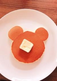ホットケーキ♡クマさんを作ろう!♡