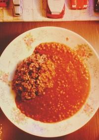 超簡単♬✫レンズ豆のヴィーガンハヤシ✫