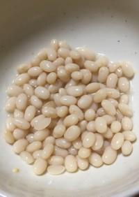 インゲン豆の戻し方