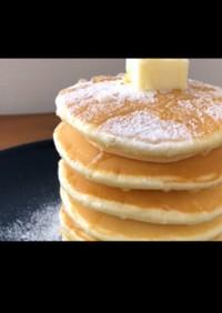 薄力粉でパンケーキ(ホットケーキ)