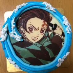 鬼滅の刃 炭治郎のキャラケーキ