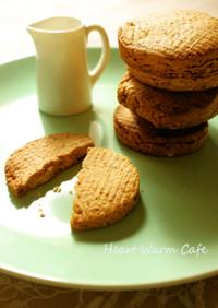 グルテンフリー♪ピーナッツバタークッキー