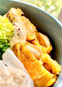 バターピー入り!卵焼き(タロの弁当)