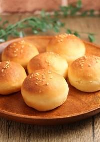 簡単!バンズ☆ハンバーガー用パン