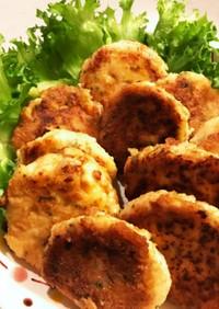 豆腐とツナのハンバーグ
