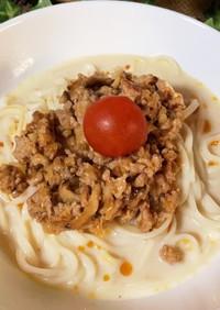 豆乳胡麻坦々麺