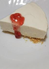 かんたんレアチーズケーキ