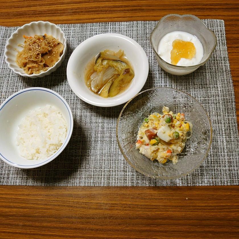 ヨウサマの減塩朝食基本的な病院食の日⒓㊼