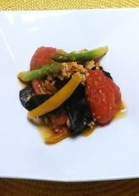 【旬】生キクラゲと夏野菜と玉子の中華炒め