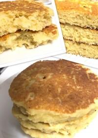 ほぼおからで☆自分家用の簡単パンケーキ