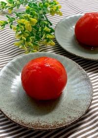 梅酢冷やしトマト