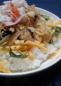 【夏飯】タコのポキ酢飯丼