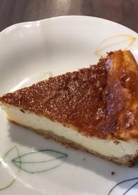 ミキサーで簡単ベイクドチーズケーキ