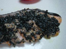 香りで勝負☆鮭のハーブ焼き