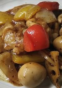 ホットクックで作る鶏もも肉の回鍋肉