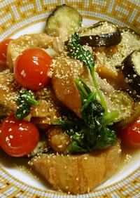 ♡仙台麩のコンソメ炒め煮 ニンニク風味♡