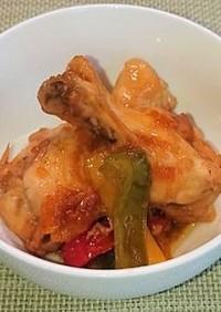 鶏手羽元のマーマレード煮