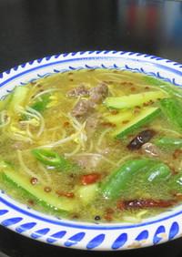 激旨辛☆四川風のシビカラスープ:水煮牛肉