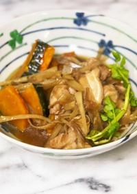 ♡鶏肉と牛蒡の煮物