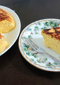 ゆず風味☆低糖質チーズケーキ