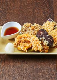オーブンレンジで簡単!野菜の天ぷら