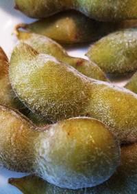 枝豆の茹で方・うぶ毛も活かす冷凍保存