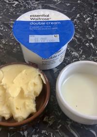 簡単手作りバター